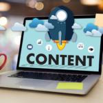 Ordinateur portable - Marketing contenu