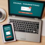 Ordinateur et téléphone portable | Marketing email